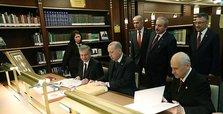 Erdoğan inaugurates Nation's Library located in Ankara