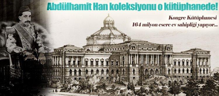 Dünyanın en zengin kütüphanesi ABD Kongresi'nde
