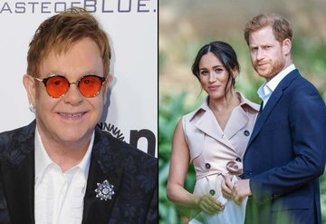 Elton John'dan Prens Harry ve Meghan Markle'a destek