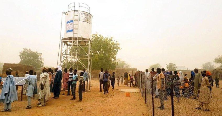 DİTİB Afrika'da iki su kuyusu açtı