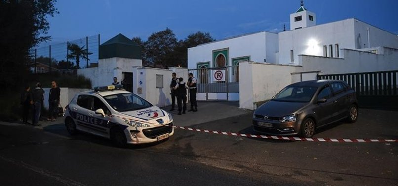 FRENCH INTERIOR MINISTER CONDEMNS ARSON ATTEMPT AT A MOSQUE