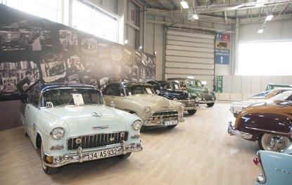 İstanbul Autoshow 2017'de sergilenen klasik otomobiller