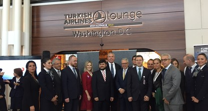 pThe frequent visitors of Dulles International Airport in Washington now have a chance to enjoy Turkish hospitality at the brand new Turkish Airlines Lounge. The Washington Bureau Manager Erkan...