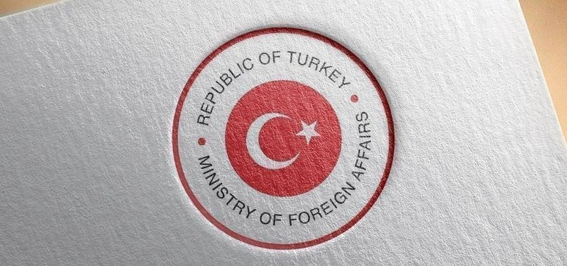 TURKEY REAFFIRMS ITS SUPPORT FOR UKRAINE'S SOVEREIGNTY