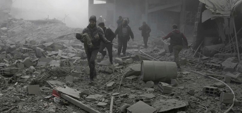 ASSAD REGIME CARRIES OUT CHEMICAL ATTACK ON SYRIAS EASTERN GHOUTA