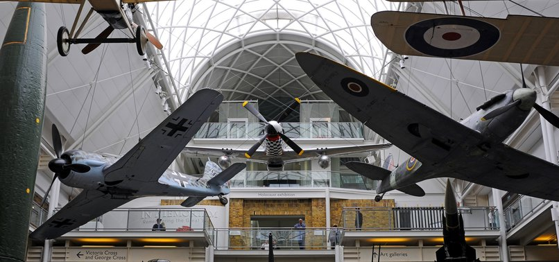 LONDON MUSEUM EXHIBITS RELICS FROM PAST WARS
