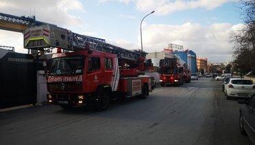 İstanbul Tuzlada Gemi Yangını