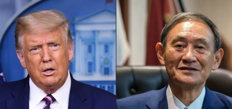 TRUMP AND NEW JAPAN PM SUGA DISCUSS FREE AND OPEN INDO-PACIFIC: US