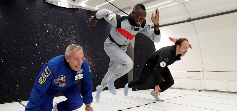 BOLT PROVES HES FASTEST MAN ON EARTH AND SPACE