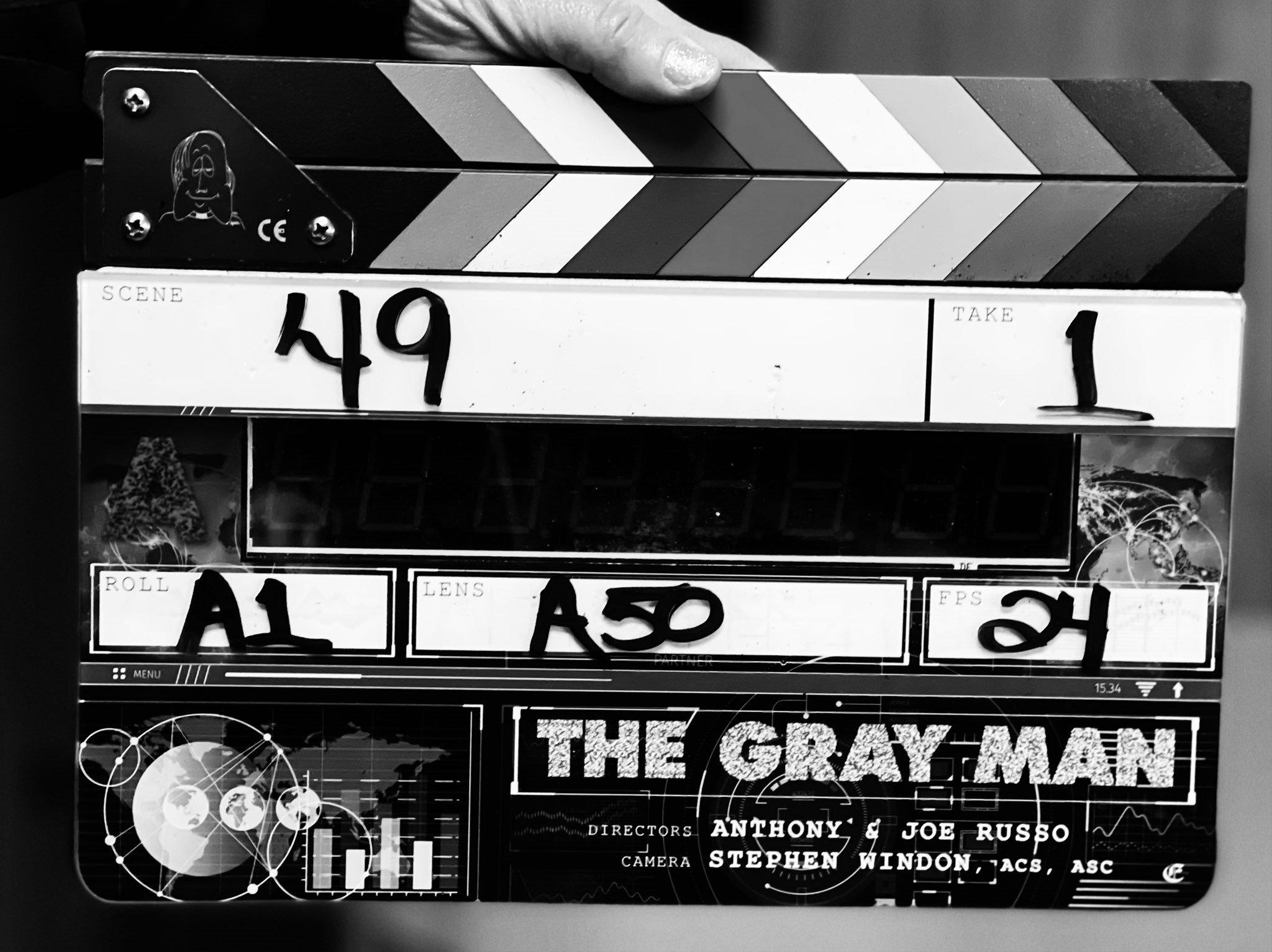 THE GRAY MAN'İN ÇEKİMLERİ BAŞLADI