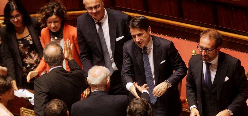 ITALIAN COALITION WINS VOTE IN SENATE LETTING IT TAKE OFFICE