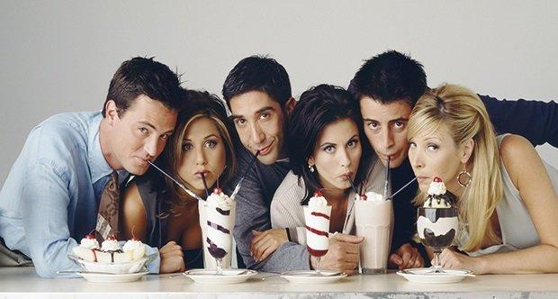 Friends ekibiyle yine yeni yeniden...
