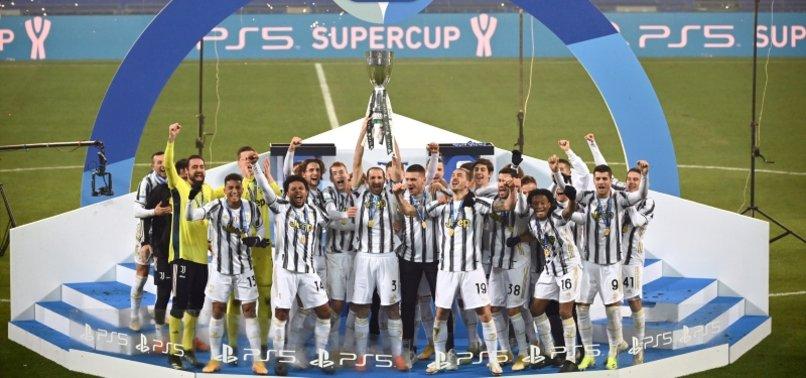 JUVENTUS BEAT NAPOLI 2-0 TO WIN ITALIAN SUPER CUP