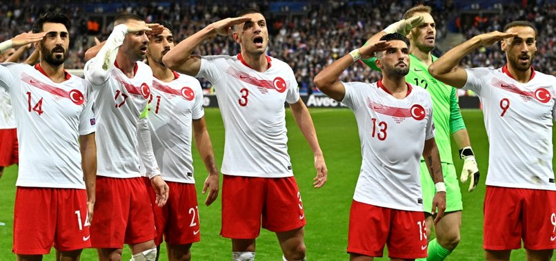TURKEY DRAW 1-1 WITH FRANCE TO STAY AT TOP OF GROUP H IN EURO 2020 QUALIFIERS