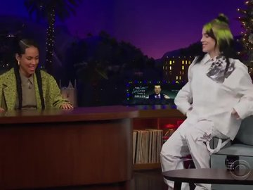 Billie Eilish ve idolu Alicia Keys'in muhteşem düeti