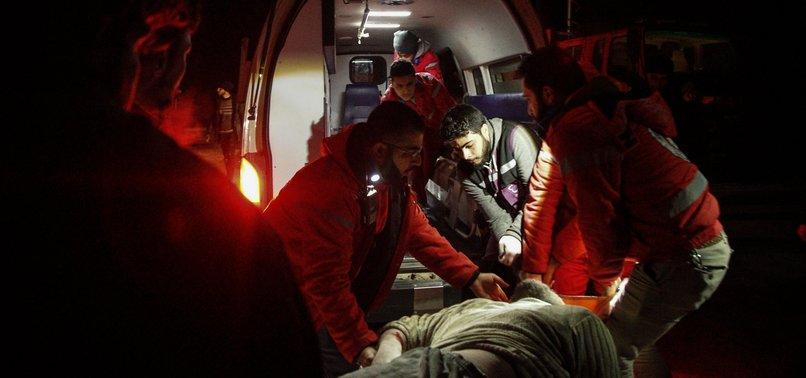 RUSSIAN AIRSTRIKES KILL 4 CIVILIANS IN SYRIAS IDLIB