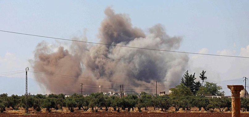 1 CIVILIAN KILLED IN REGIME ATTACKS IN SYRIA'S IDLIB