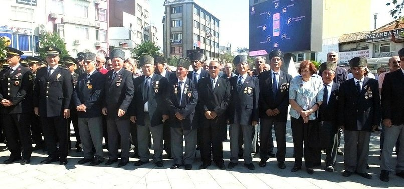 TURKEY REMEMBERS WAR VETERANS WITH NATIONWIDE EVENTS