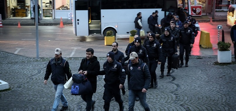 DETENTION WARRANTS ISSUED FOR 130 FETÖ-LINKED SUSPECTS IN MILITARY