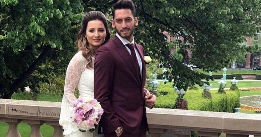 Hakan Çalhanoglu'nun evliliği zorda