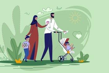 İslami açıdan aile hayatının esasları: Ayet ve hadisler ışığında aile...