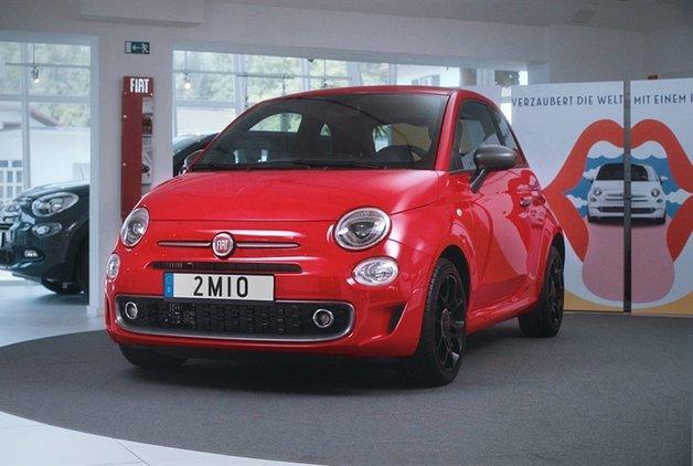 2 milyonuncu Fiat 500 sahibine teslim edildi!
