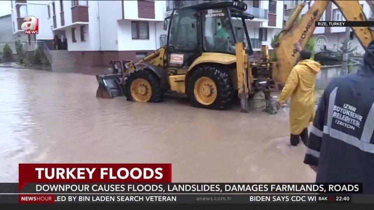 Downpour causes floods, landslides, damages farmlands, roads