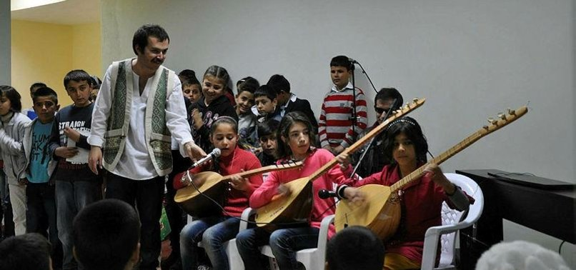 TURKISH MUSIC TEACHER RECORDS TRADITIONAL SONG, DANCE FOR POSTERITY