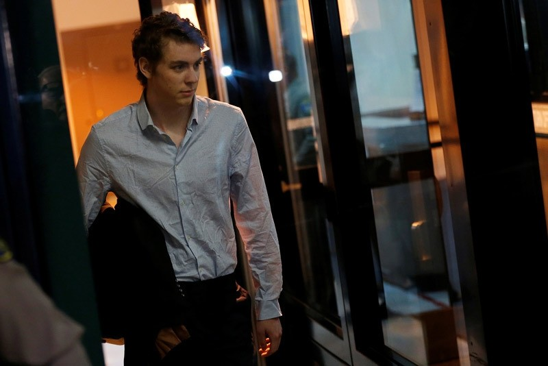 Brock Turner, the former Stanford swimmer convicted of sexually assaulting an unconscious woman, leaves the Santa Clara County Jail in San Jose, California, U.S. September 2, 2016  REUTERS Photo