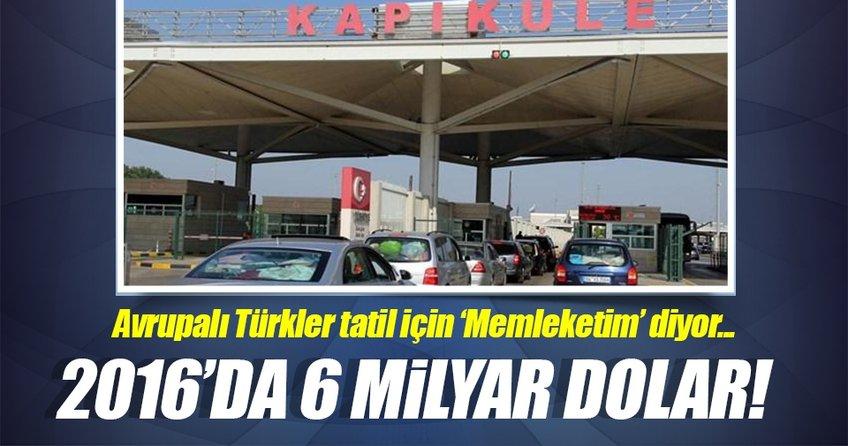 Avrupalı Türkler daha çok harcıyor