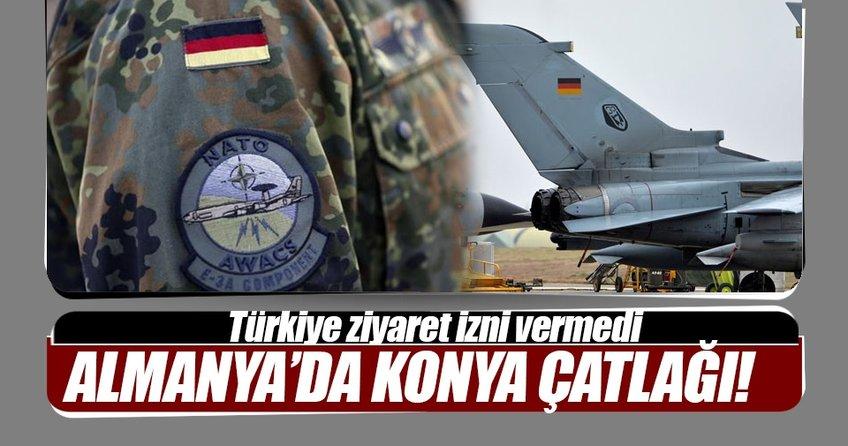 Almanya'da Konya krizi
