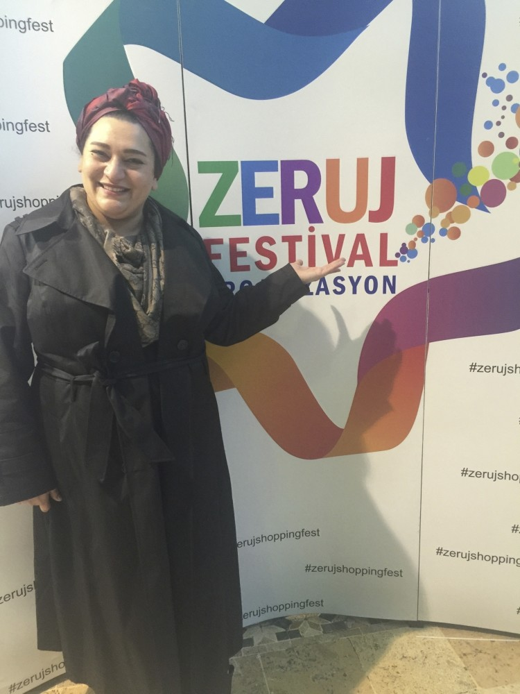 Zeruj, who opens the doors of the business world to female entrepreneurs with the festivals she organizes, will host 120 female entrepreneurs from Dubai, Lebanon, Bahrain, Kuwait, Abu Dhabi and the Netherlands at the Zeruj Shopping Fest.