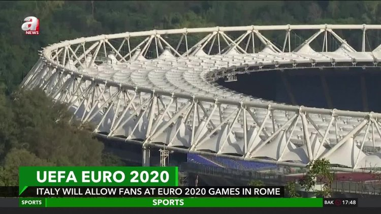 Italy ready to allow fans into Euro 2020 matches in Rome