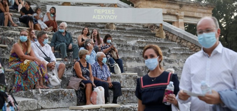 GREECE RECORDS HIGHEST DAILY CASES SINCE LOCKDOWN