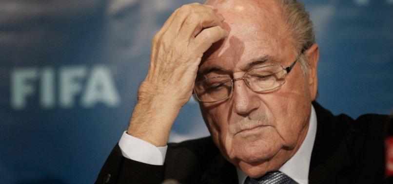 FORMER FIFA PRESIDENT BLATTER CALLS FOR INFANTINO TO BE SUSPENDED