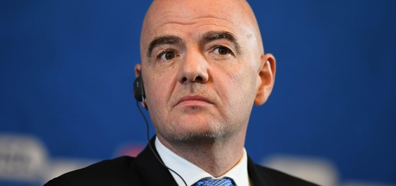 FIFA CHIEF INFANTINO STILL HOPES FOR VIDEO REFEREES AT WORLD CUP