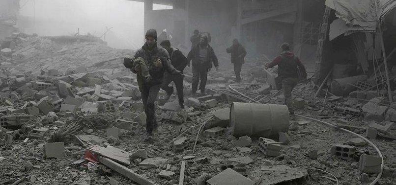 SYRIANS SUFFERING UNDER VIOLENCE IN E.GHOUTA, IDLIB: UN