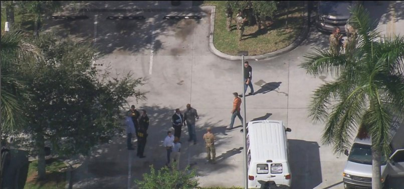 PERSON IN HIS 50S DETAINED IN FLORIDA OVER EXPLOSIVE PACKAGES