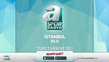 A Spor Radyo, İstanbul'da 93.0 Frekansında