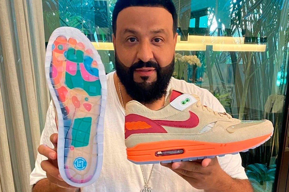 DJ KHALED DUYURDU: CLOT X NİKE AİR MAX 1 KİSS OF DEATH