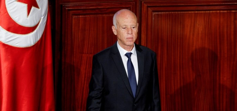 TUNISIA LABOUR UNION CALLS PRESIDENTS MOVES DANGER TO DEMOCRACY