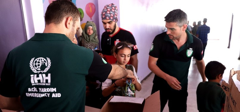 TURKISH STATE AGENCIES, NGOS INCREASE EFFORTS FOR DISPLACED PEOPLE IN IDLIB