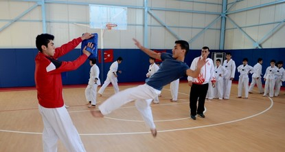Roughly 500 Syrian children have received taekwondo training since sports activities were launched three years ago at the Öncüpınar Refugee Camp in the Turkish border city of Kilis, benefiting from...