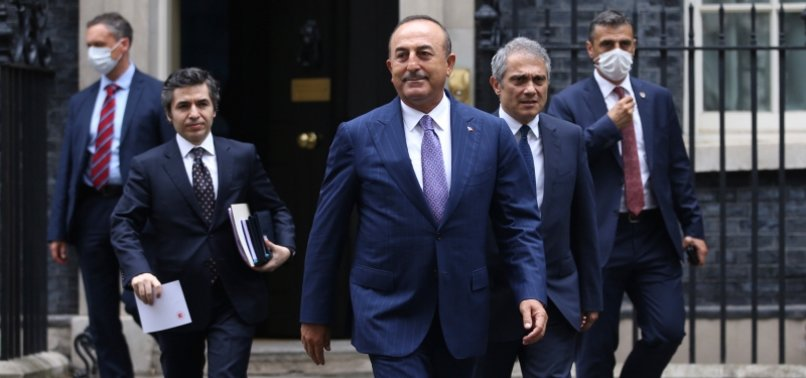 TURKEY, UK VERY CLOSE TO FREE TRADE DEAL: ÇAVUŞOĞLU