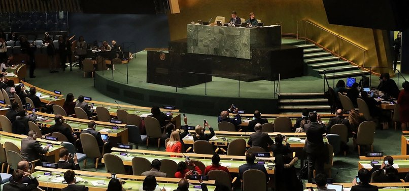 PALESTINE HAILS UN REJECTION OF ANTI-HAMAS RESOLUTION