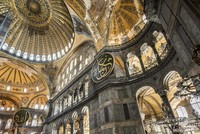 An impressive figure of the architectural beauty hailing from the Byzantine-era, the Hagia Sophia at Istanbul's Sultanahmet Square is still inspiring new studies, like the