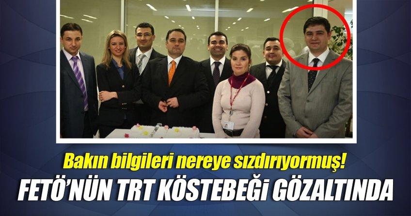 FETÖ'nün TRT İstanbul'daki kösteği gözaltında