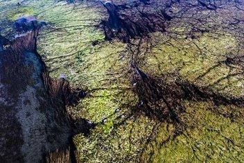 Türkiyenin çatısında doğal akvaryum şöleni