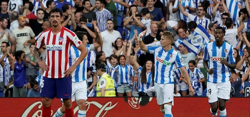 ATLETICO LEFT SHELL-SHOCKED BY RAMPANT SOCIEDAD