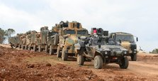 Turkey deploys more military vehicles to Syrian border